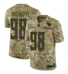 Youth Nike Tennessee Titans  98 Brian Orakpo Limited Camo 2018 Salute to  Service NFL Jersey 5b4b7822f