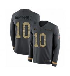 buy online b49cf 9e1dd Men's Nike San Francisco 49ers #10 Jimmy Garoppolo White ...