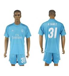 8d4cf61e9 Real Madrid  13 K.Casillas White Home Long Sleeves Soccer Club ...
